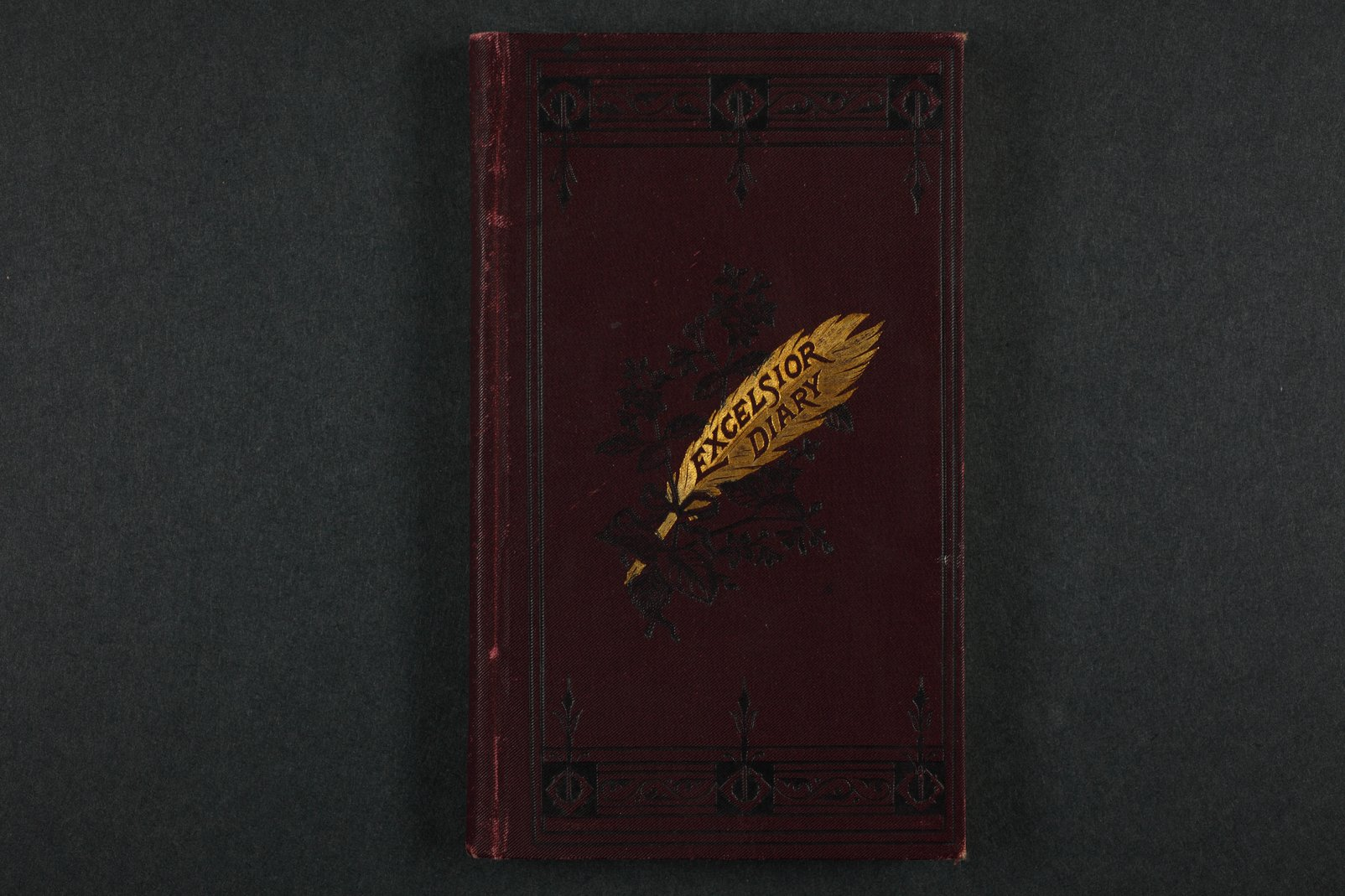 Isaac Tichenor Goodnow diary - 1  [Cover]