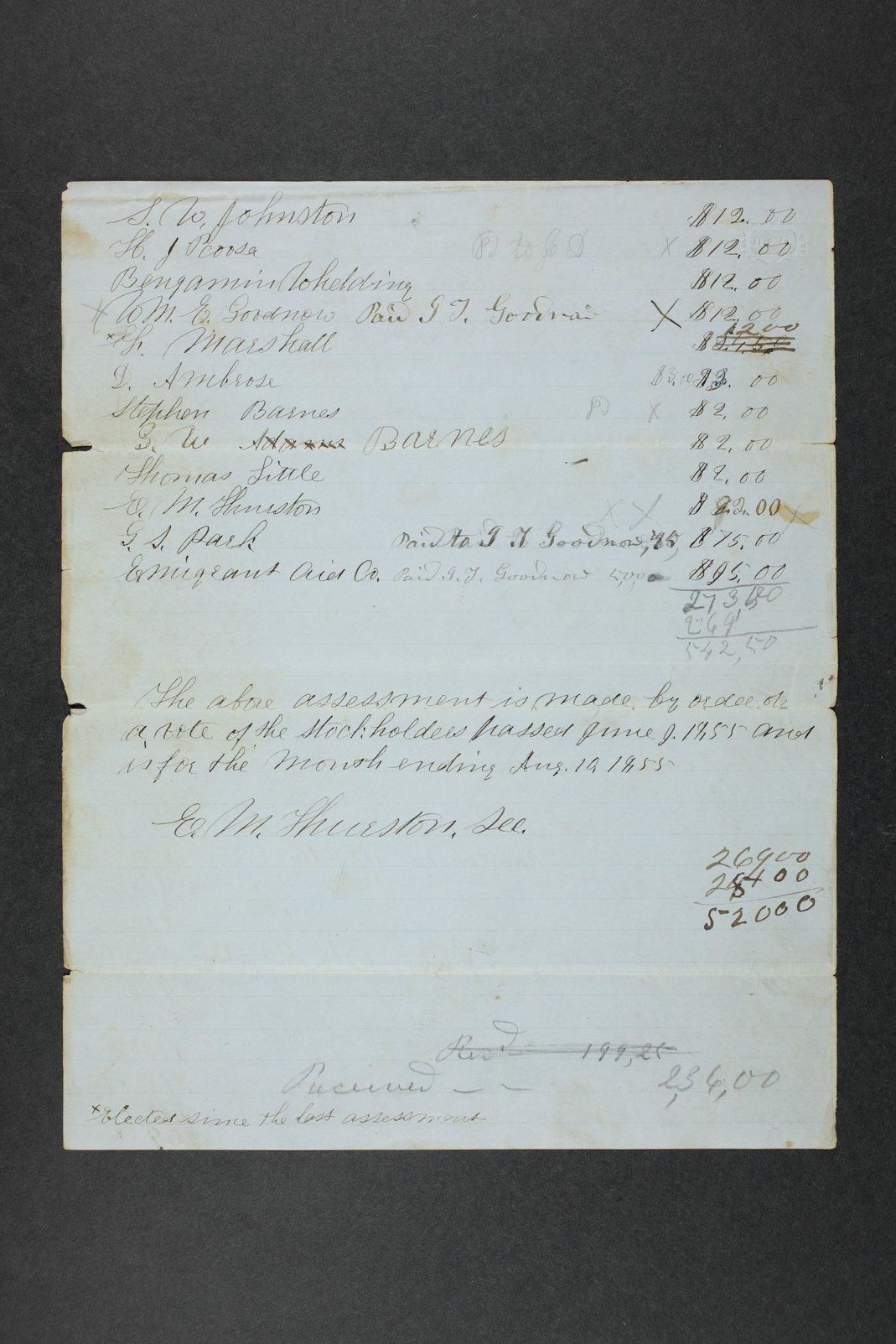 Manhattan Town Association records - 6