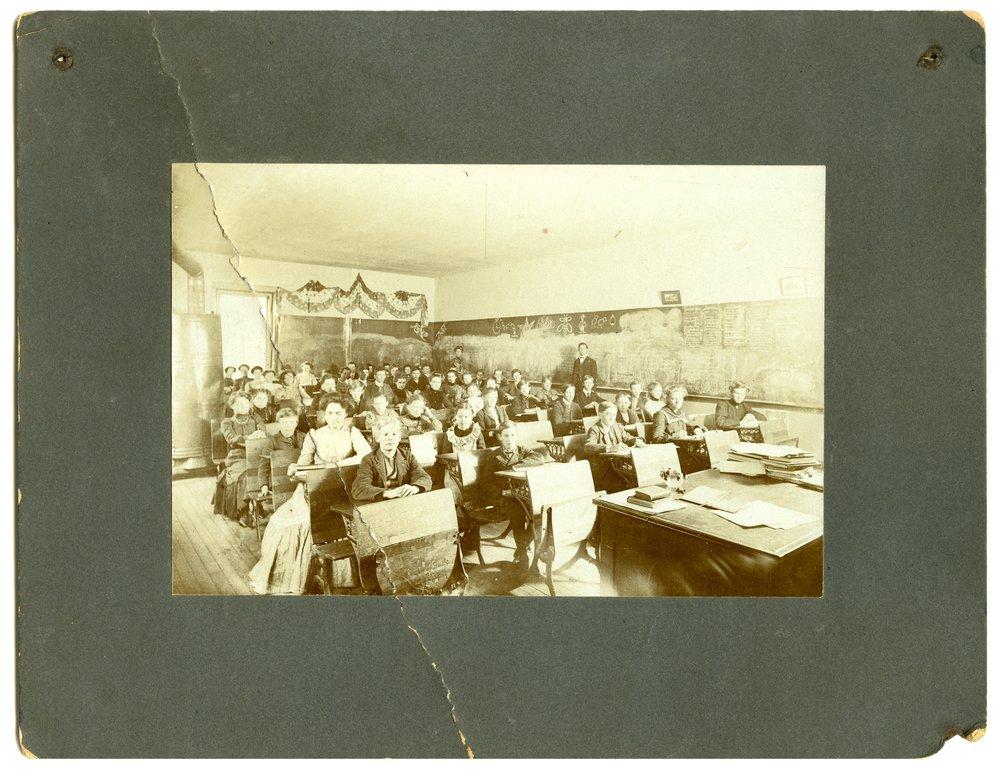 Classroom in Alta Vista, Kansas