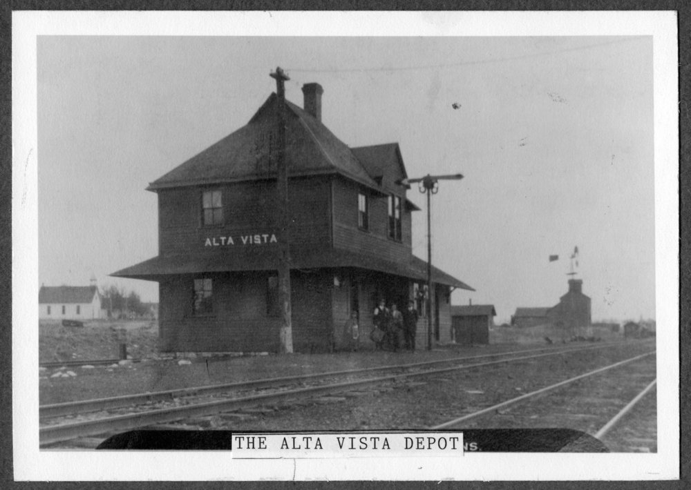 Chicago, Rock Island & Pacific Railroad depot, Alta Vista, Kansas - 1