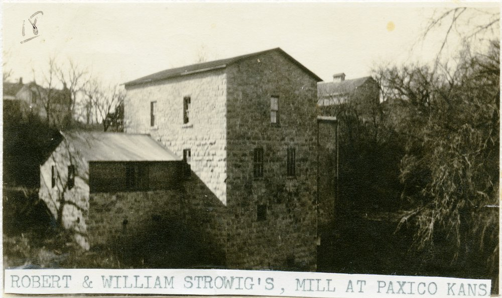 Strowig Brothers' Mill, Paxico, Kansas - 1