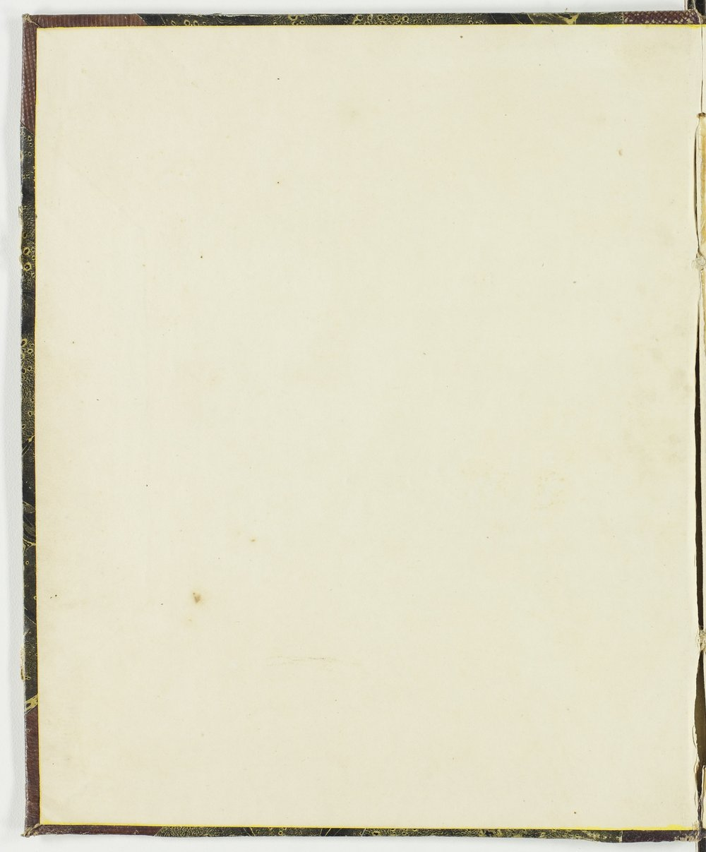 Isaac Tichenor Goodnow diary - Inside front cover