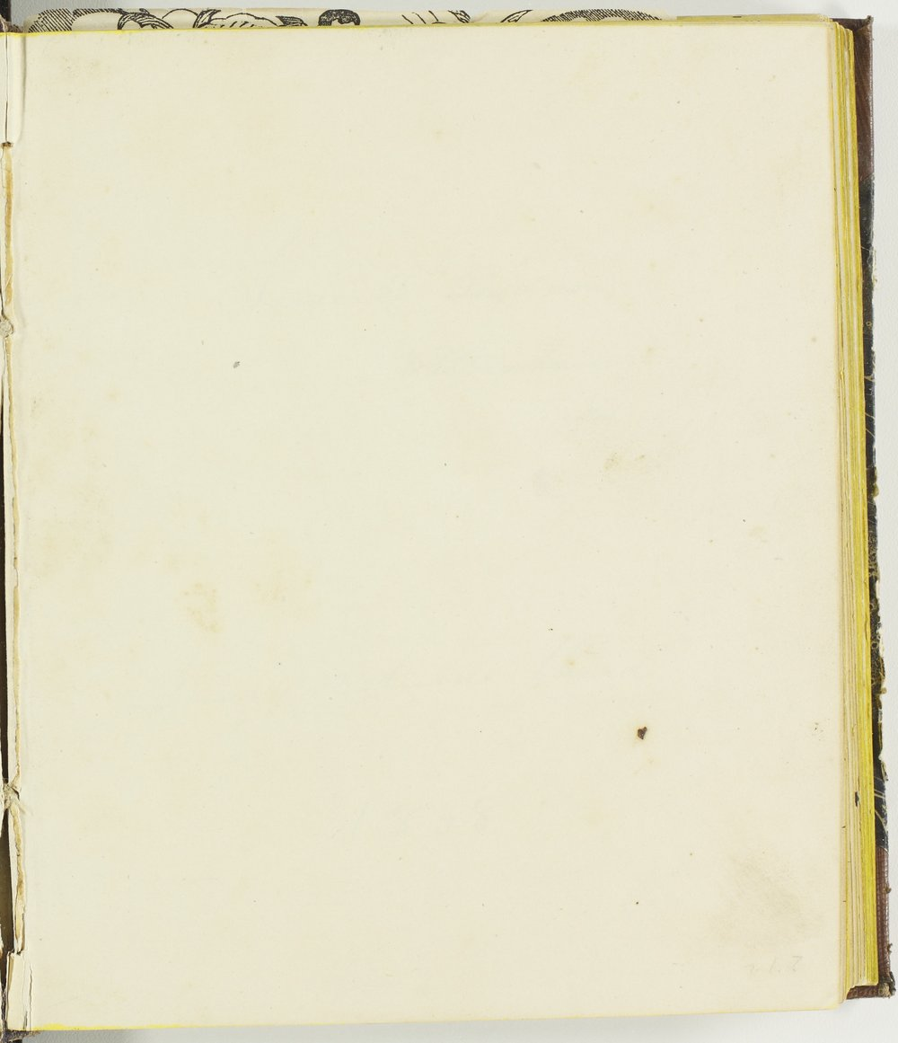 Isaac Tichenor Goodnow diary - Blank page