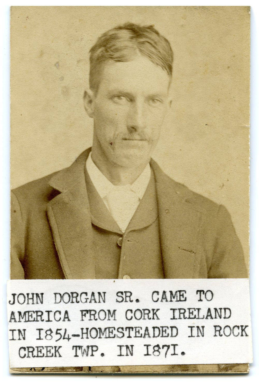 John Dorgan in Wabaunsee County, Kansas