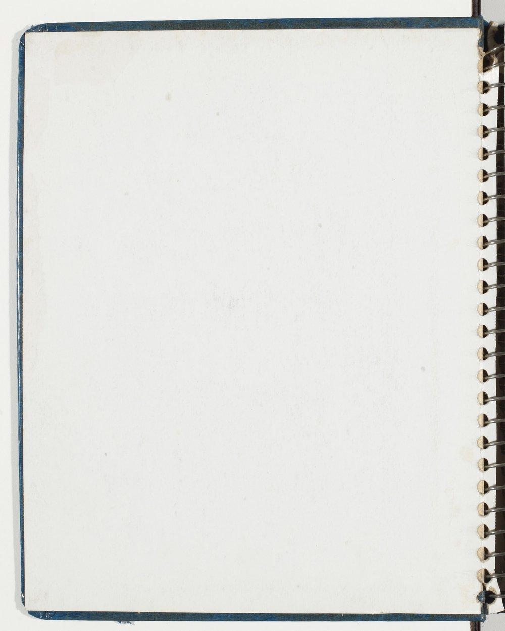 Todd Strait's scrapbooks - Inside cover