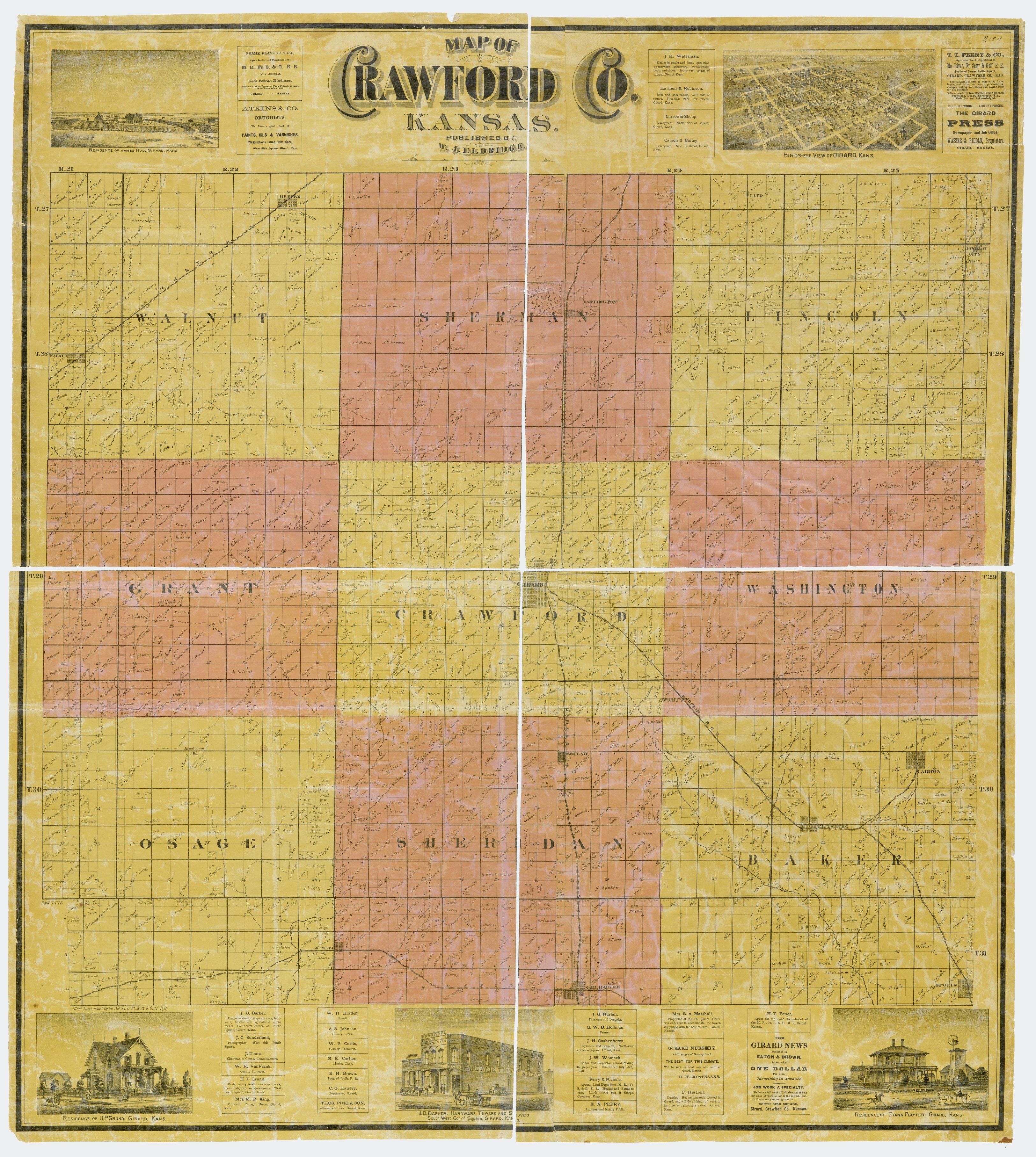 Crawford County, Kansas - 1