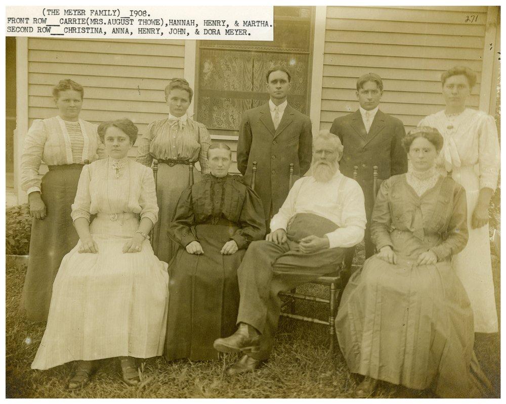 Heinrich Meier family
