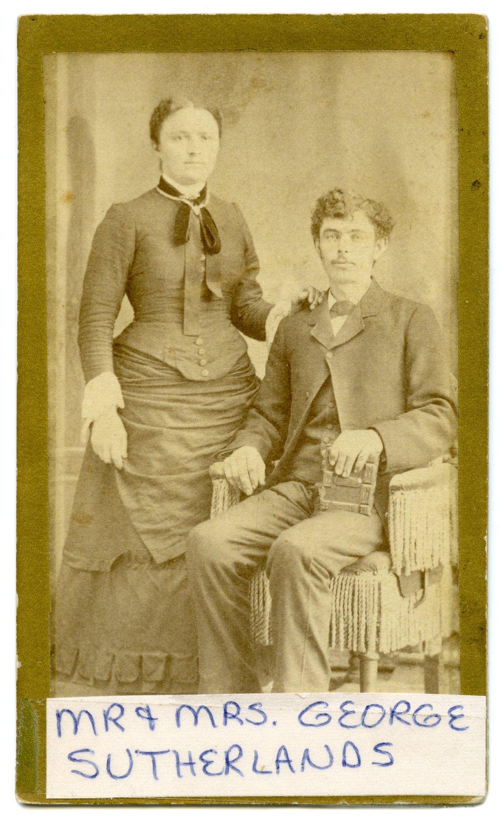 Mr. and Mrs. George Sutherland