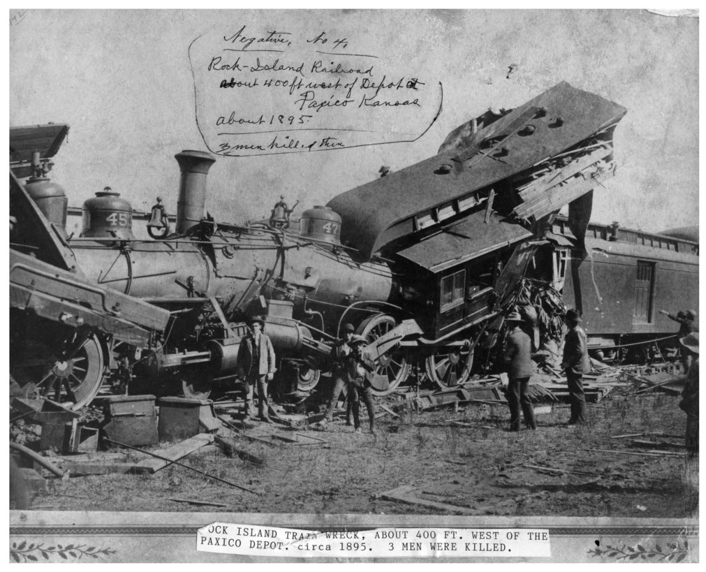 Chicago, Rock Island & Pacific Railway train wreck, Paxico, Kansas