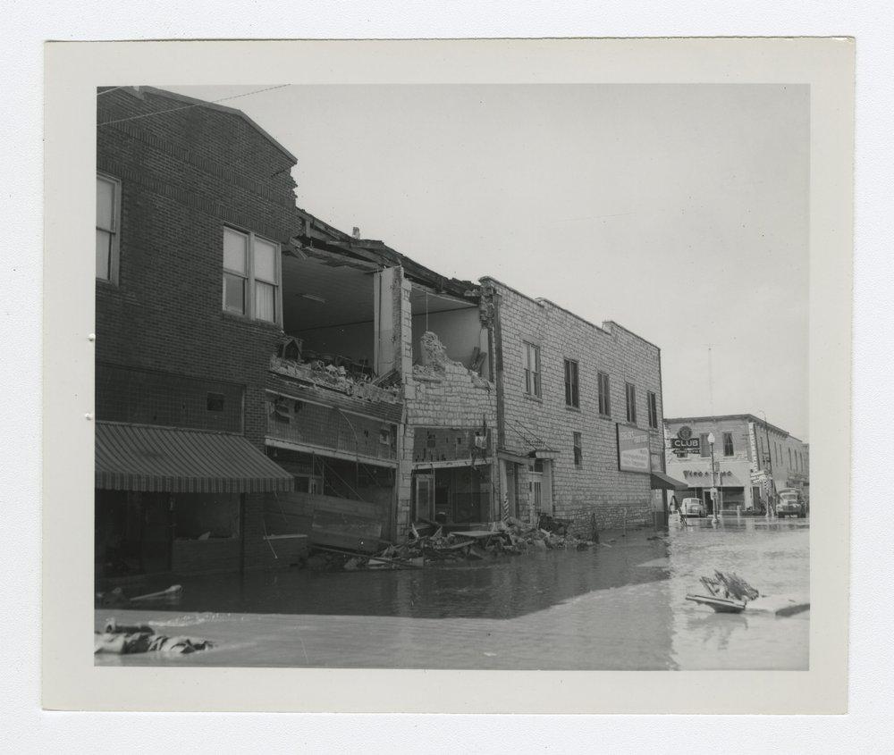 1951 flood scenes in Manhattan, Kansas - 4