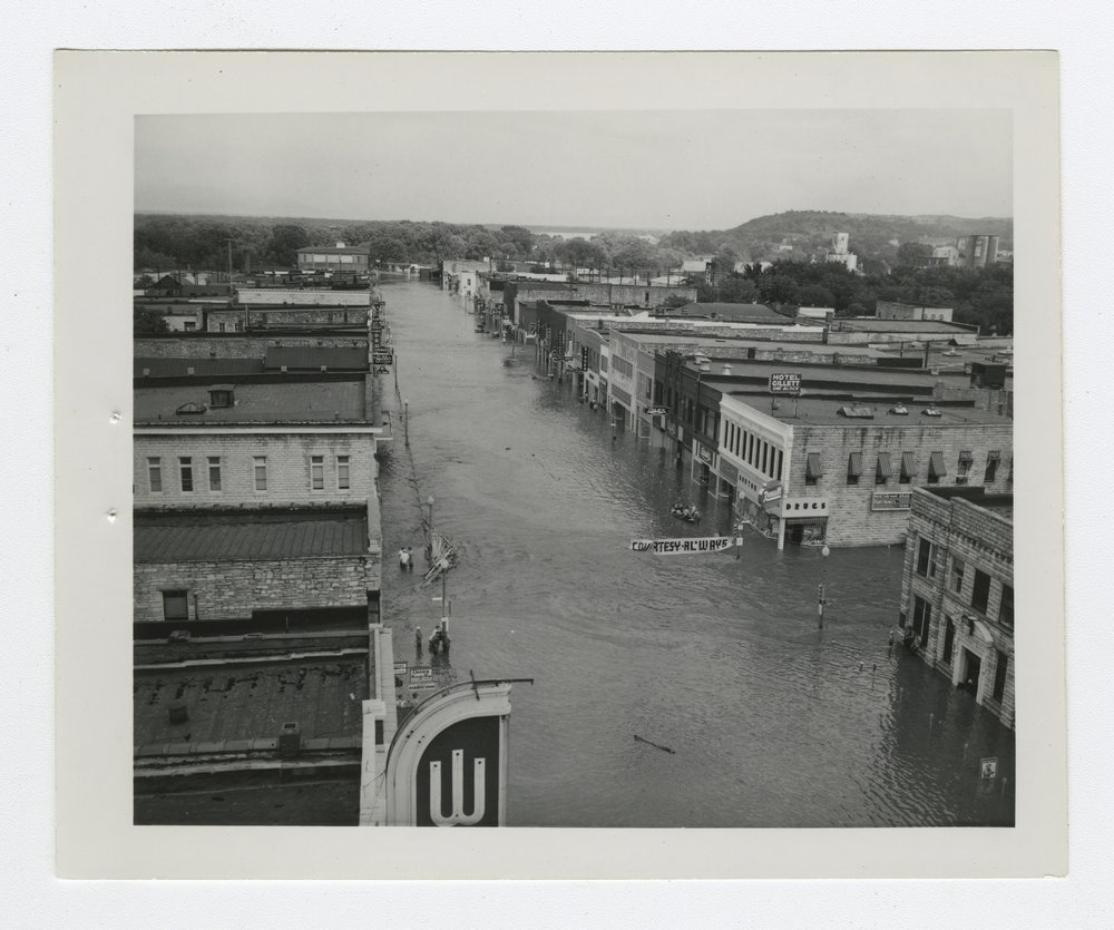 1951 flood scenes in Manhattan, Kansas - 5