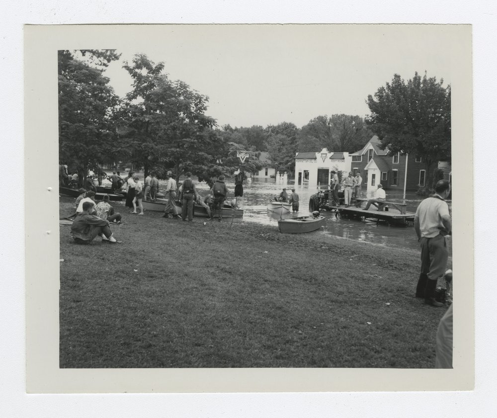 1951 flood scenes in Manhattan, Kansas - 10