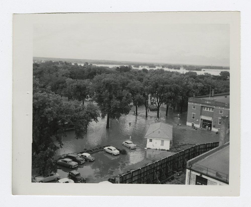 1951 flood scenes in Manhattan, Kansas - 9