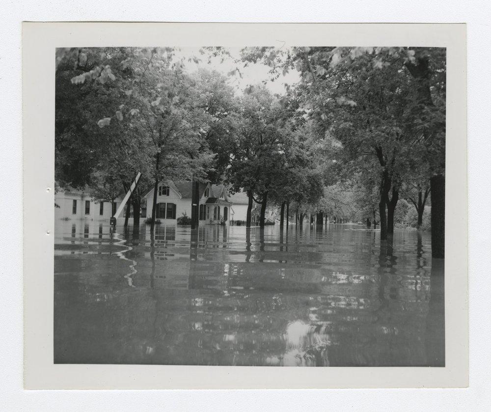 1951 flood scenes in Manhattan, Kansas - 7