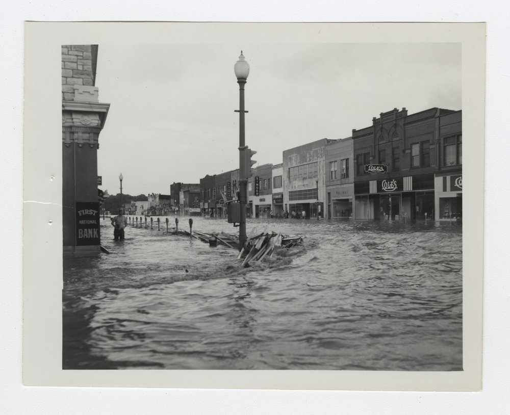 1951 flood scenes in Manhattan, Kansas - 6