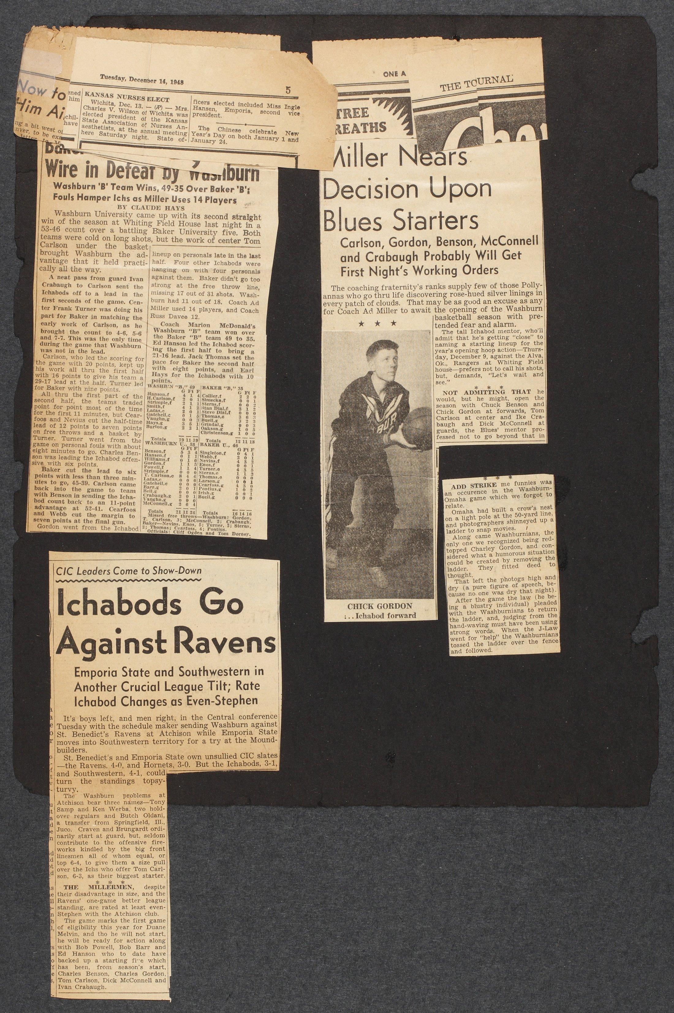 Charles Gordon scrapbook - 11