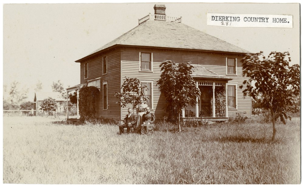 Dierking family home in Wabaunsee County, Kansas