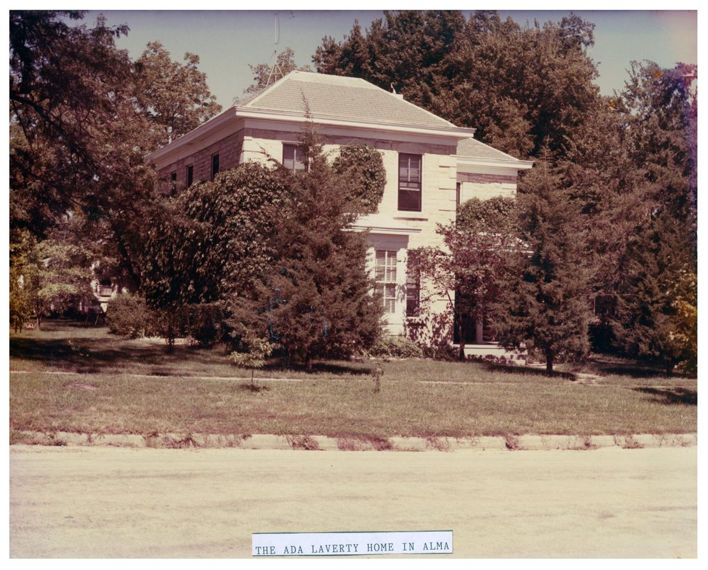 Ada Laverty residence in Alma, Kansas