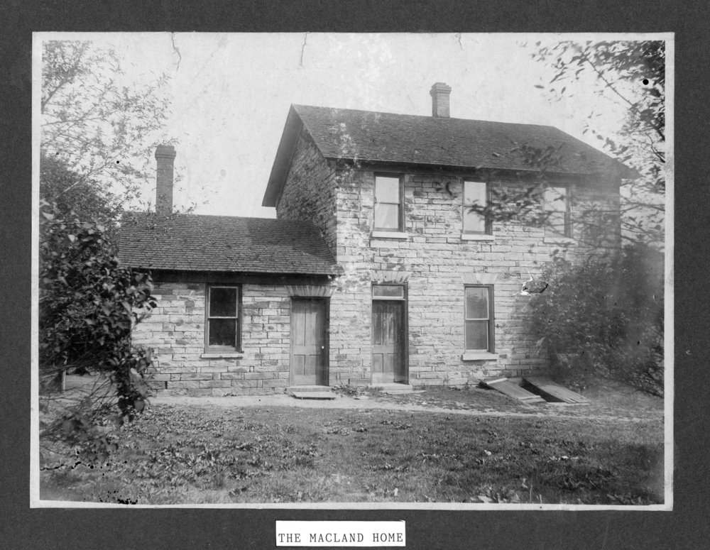Macland residence in Alma, Kansas