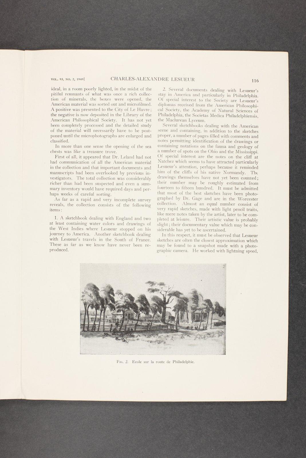 Robert Taft correspondence related to frontier artists, Landers - Metcalf - 8