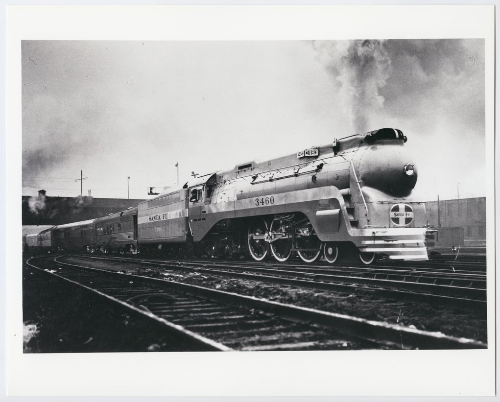 Atchison, Topeka & Santa Fe Railway Company's Blue Goose - 1