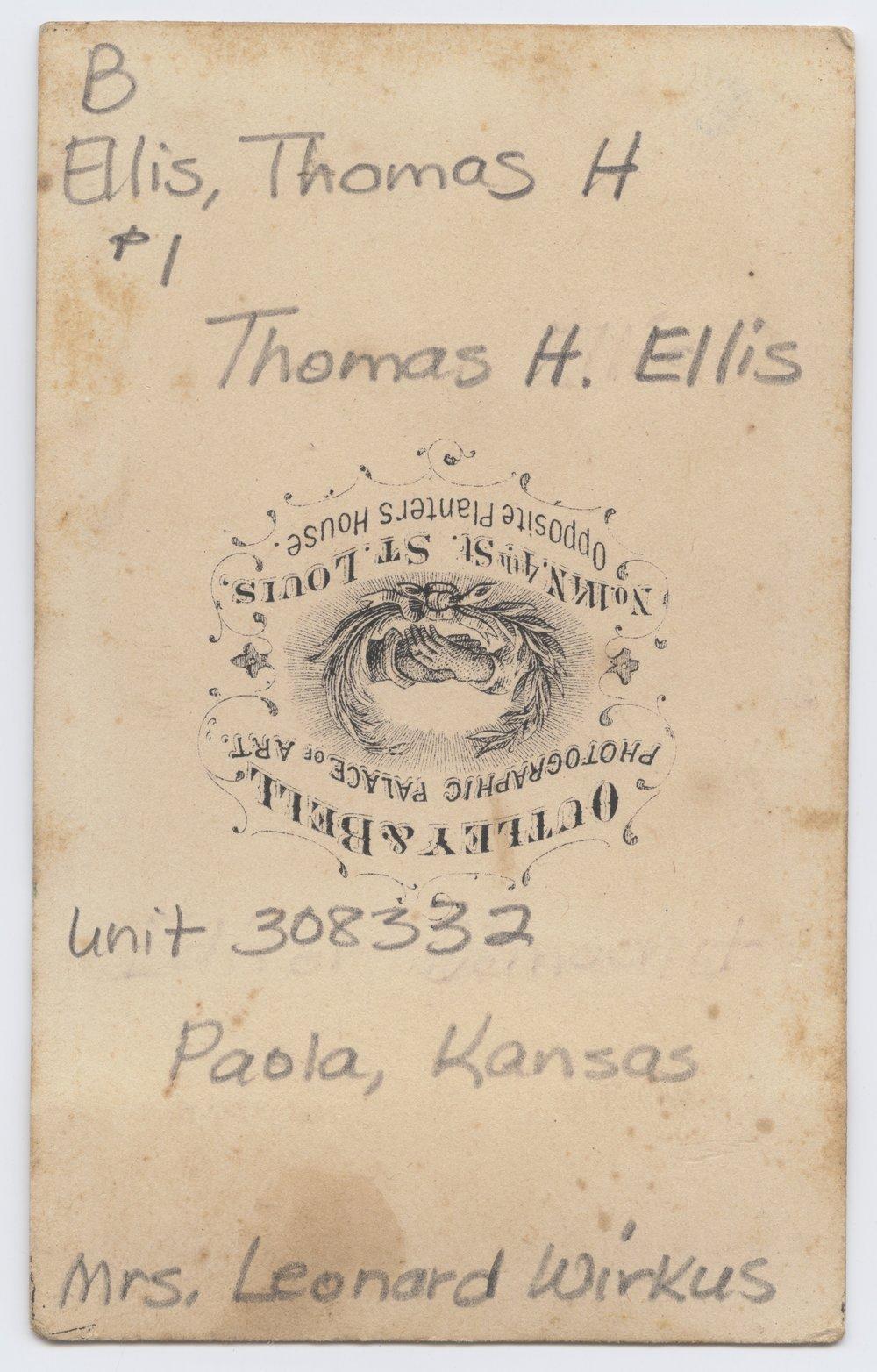 Thomas H. Ellis - 2