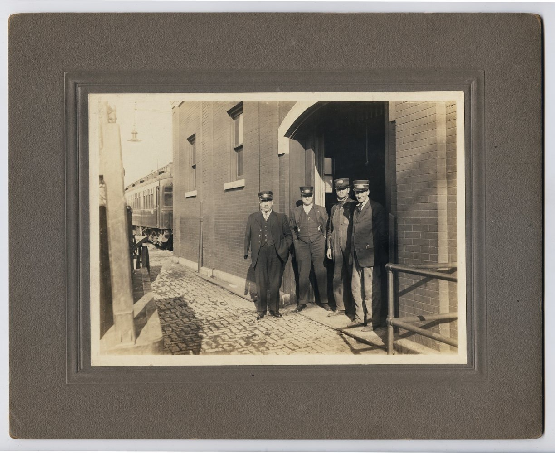 Atchison, Topeka & Santa Fe Railway Company conductors, Topeka, Kansas - 1