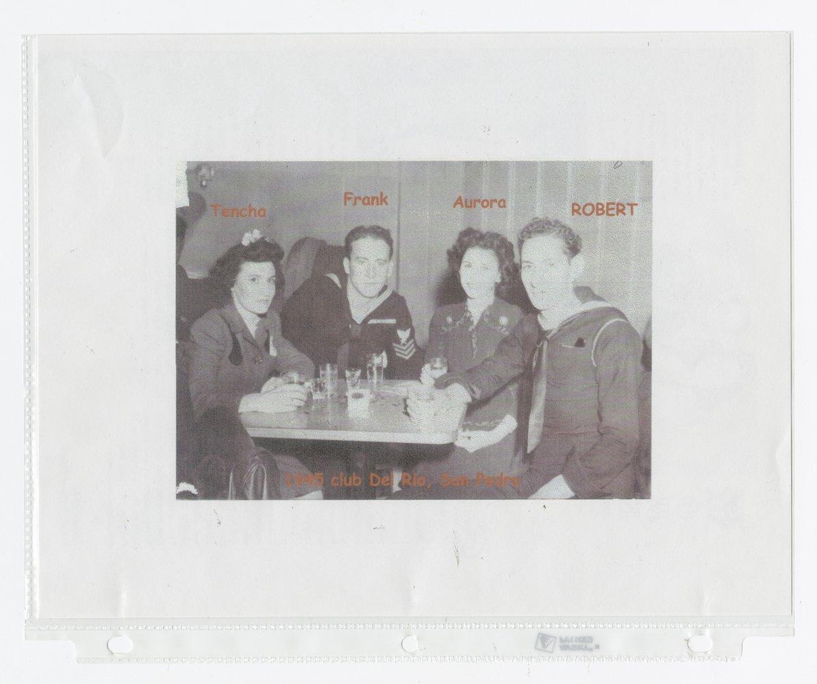 Robert Gomez military scrapbook - 5
