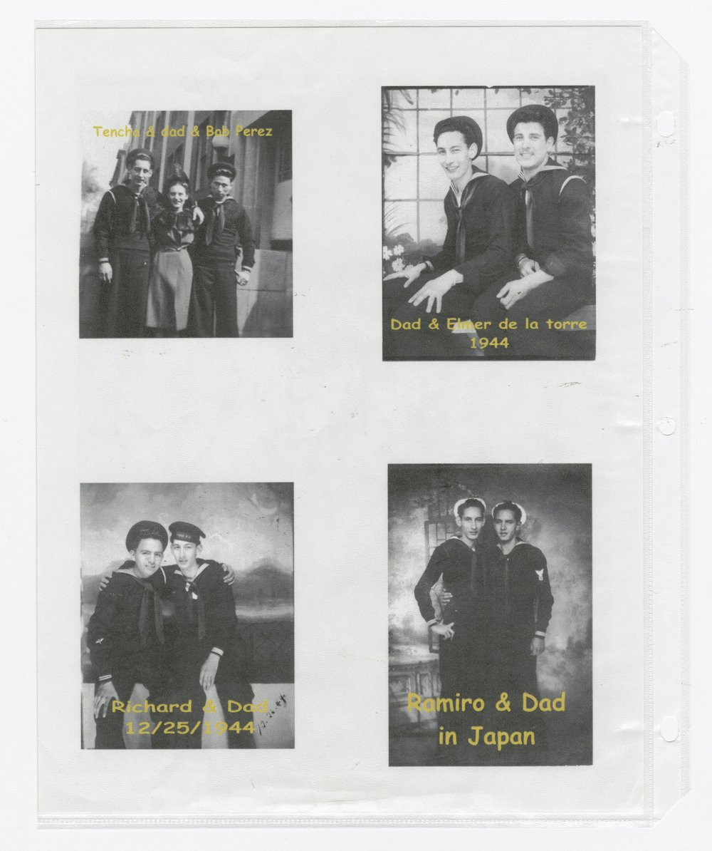 Robert Gomez military scrapbook - 7