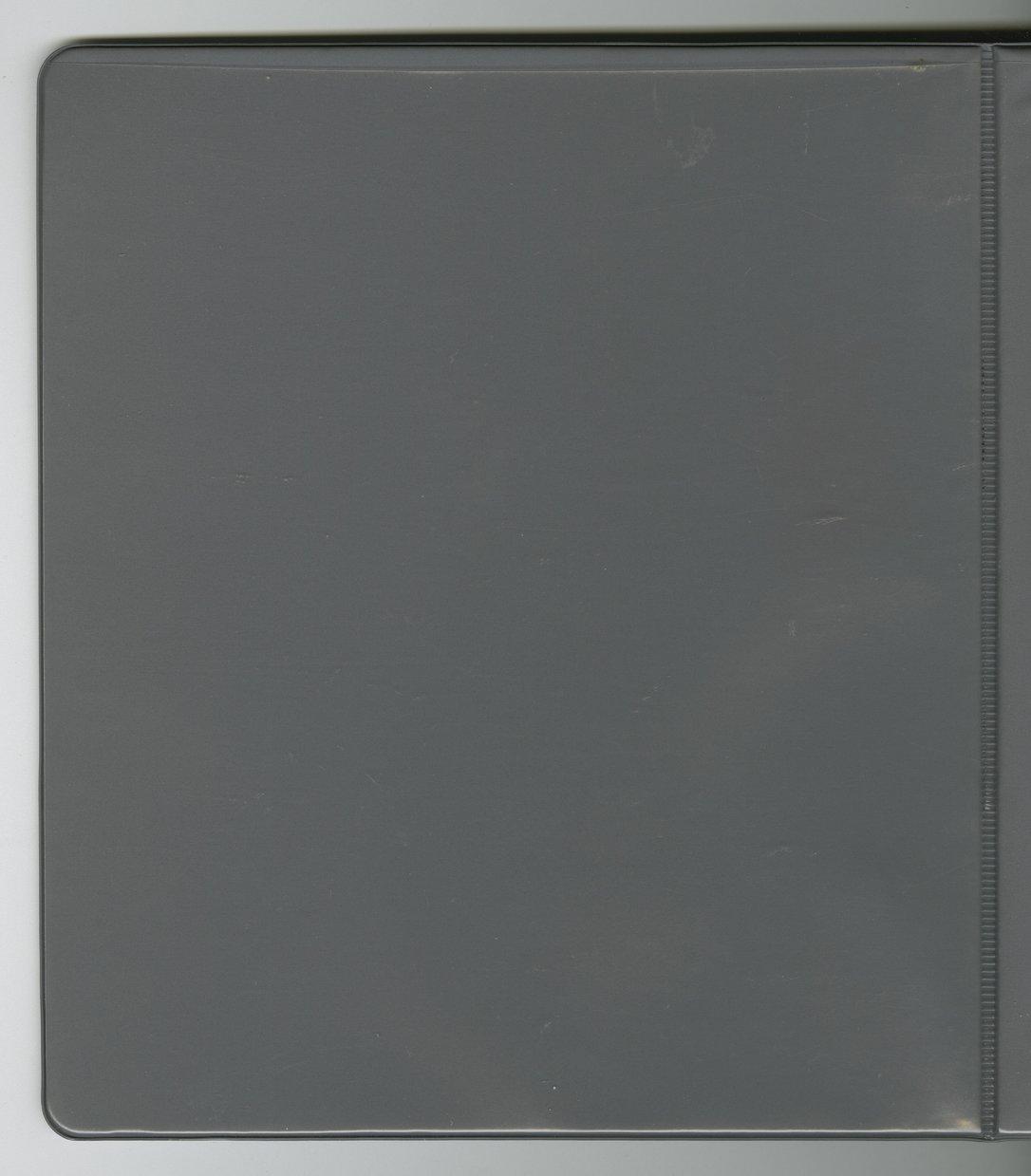 Robert Gomez military scrapbook - Back cover