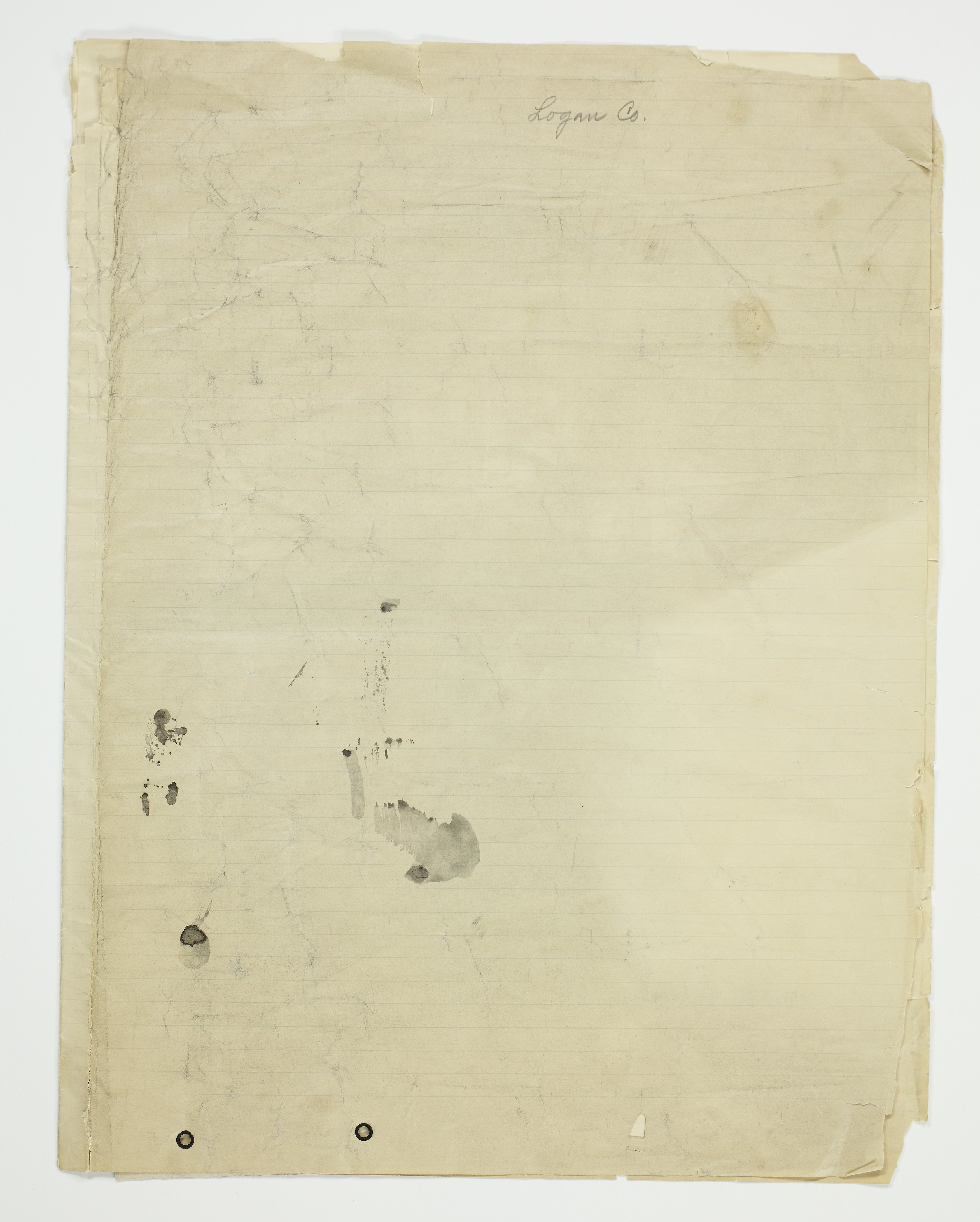 Bessie Buell's map of Paxton Township, Logan County - 14