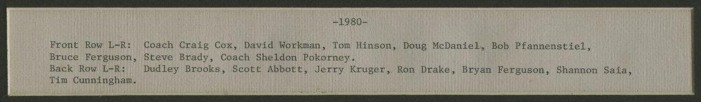 American Legion baseball team from Silver Lake, Kansas - 2