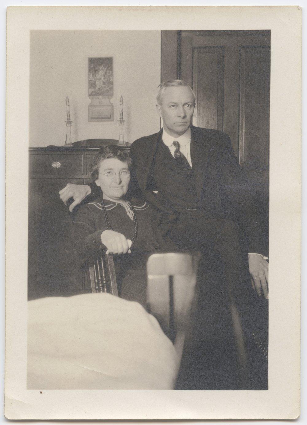 Charles A. and Lula Richard - 1