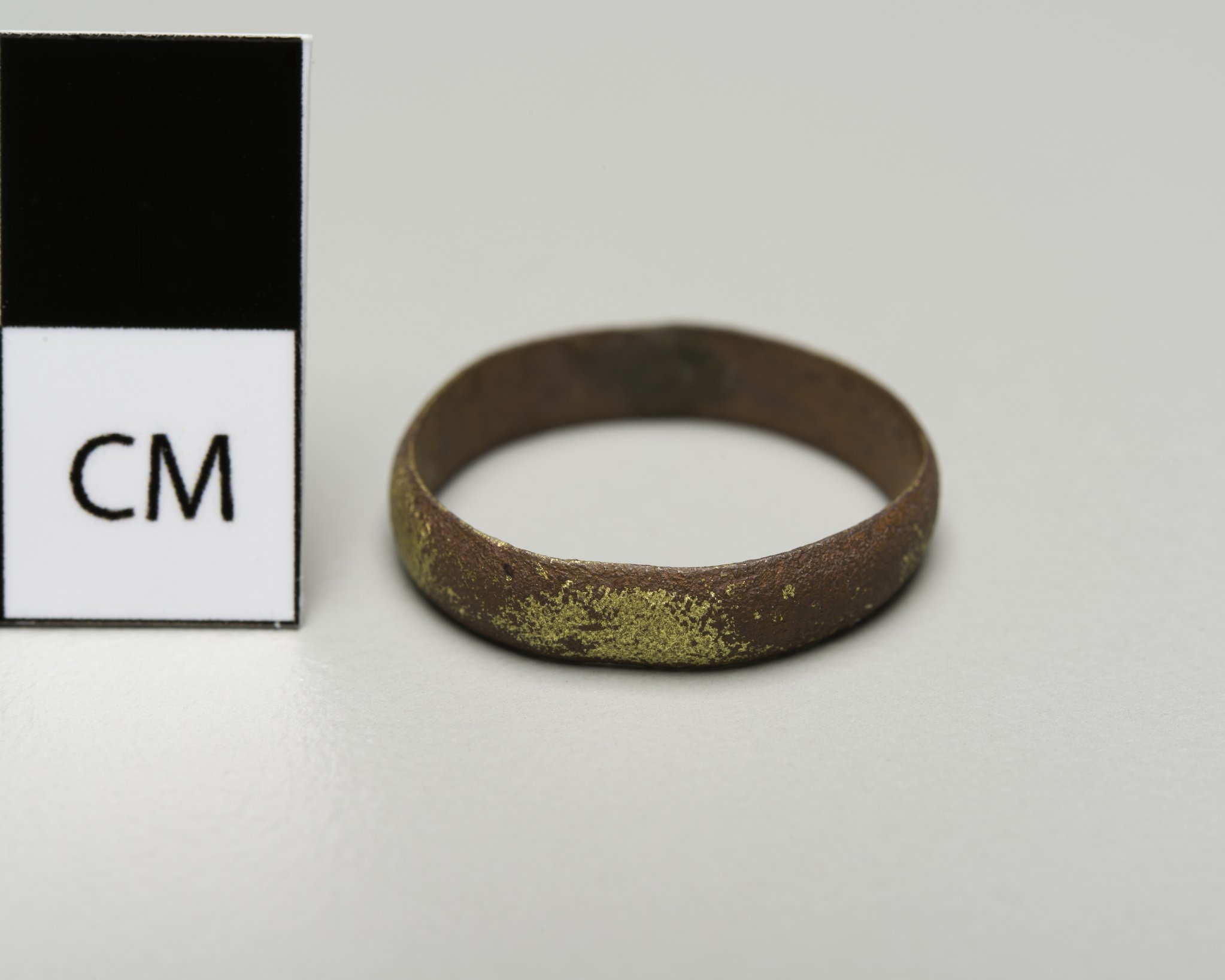 Brass Ring from the Canville Trading Post, 14NO396 - 2