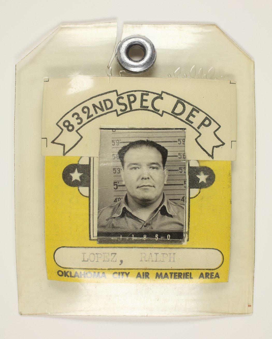 Ralph Lopez at Tinker Air Force Base in Oklahoma City, Oklahoma - 1