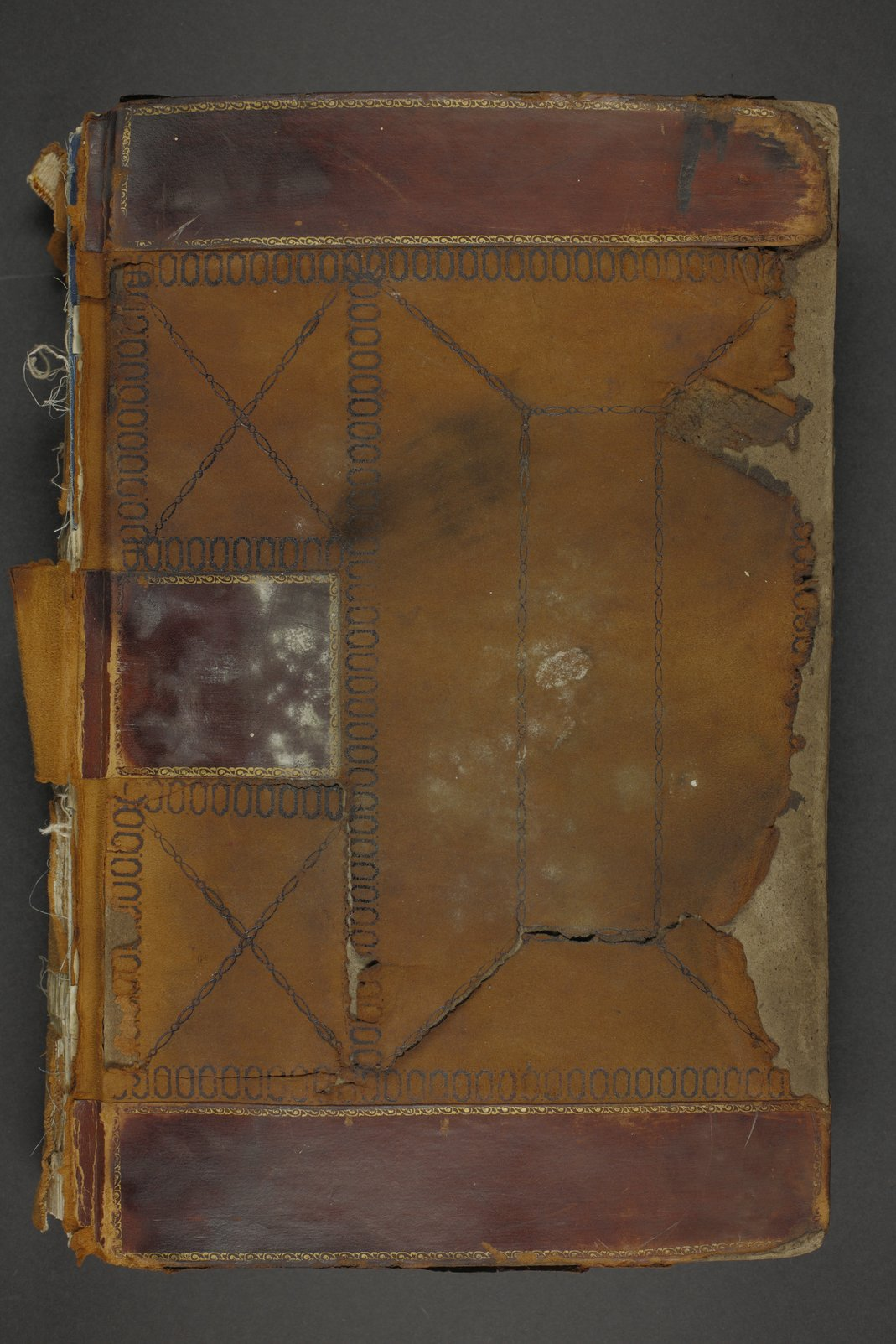 Personal histories of inmates - Volume I, 1899-1900 - Cover