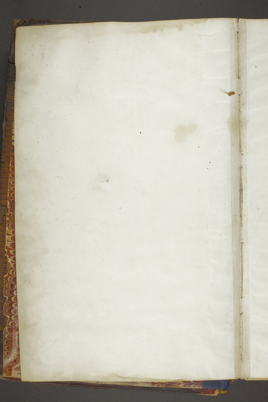 Personal histories of inmates - Volume I, Blank page