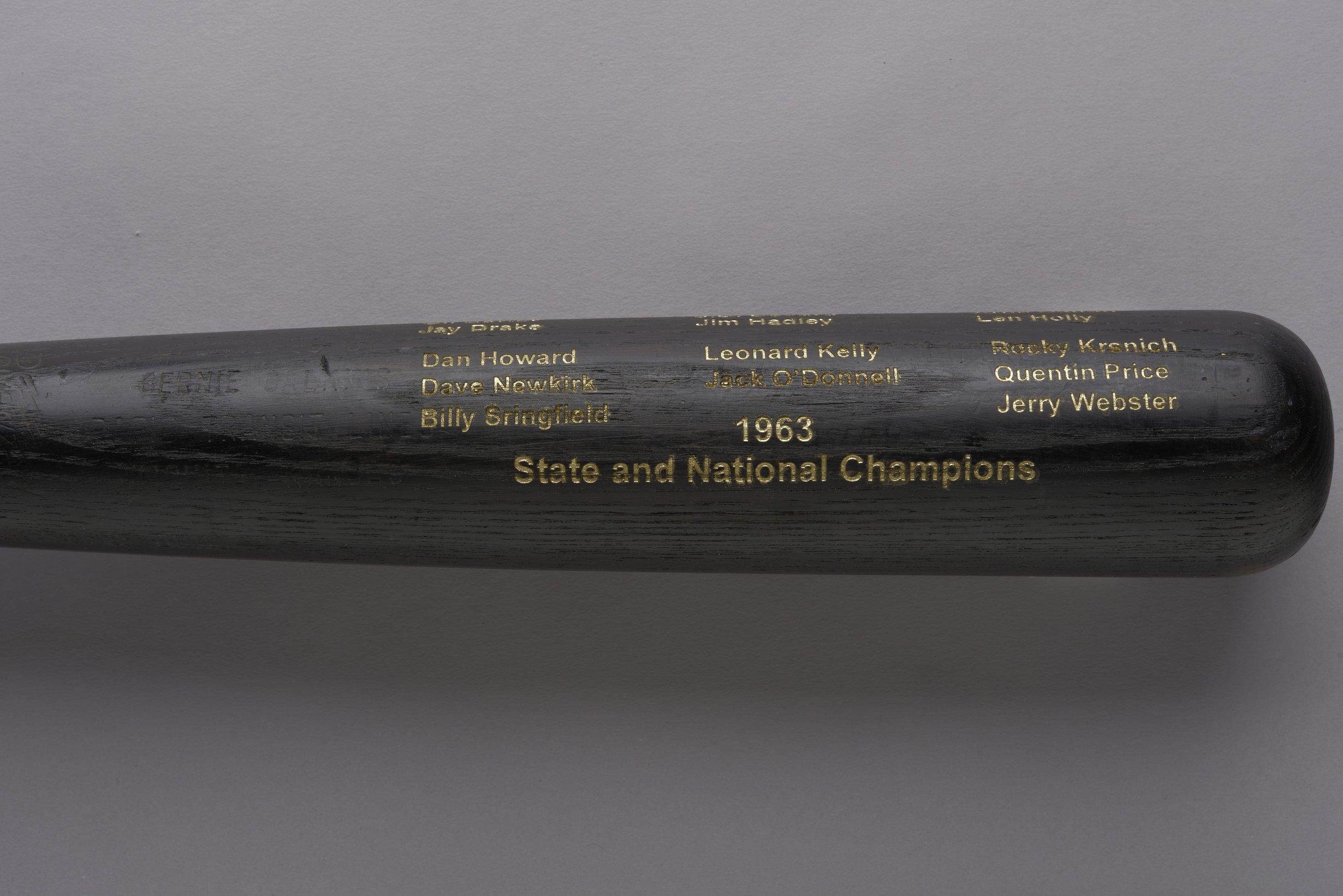 1963 Wichita Dreamliners baseball bat - 3