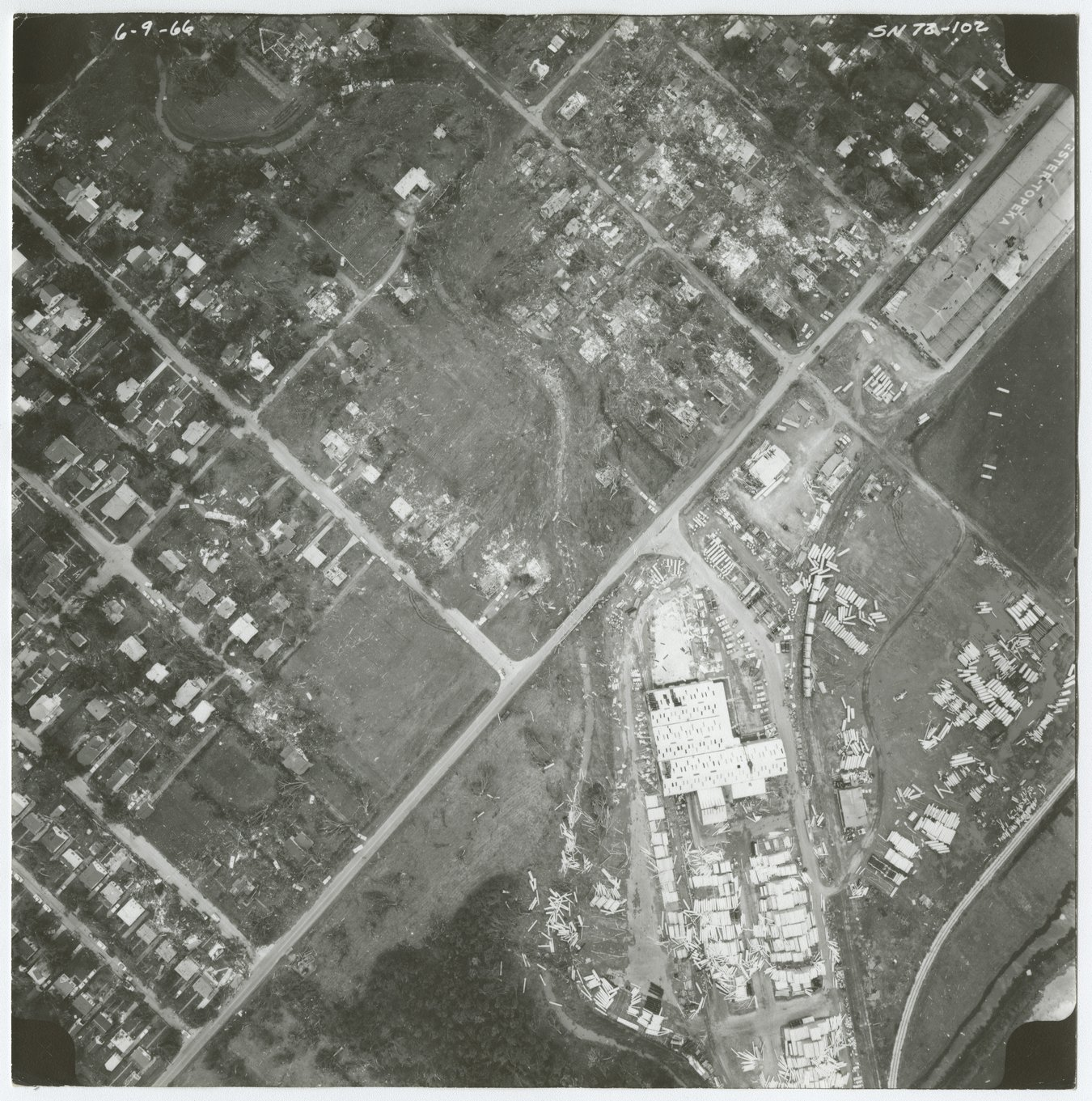 Aerial view of Shawnee County, Kansas - 1