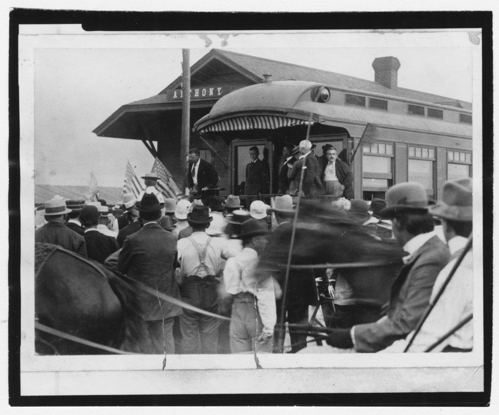 Theodore Roosevelt, Anthony, Kansas - 1