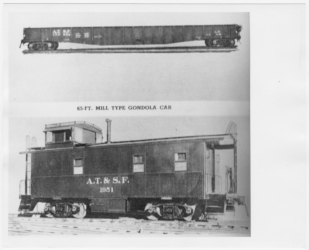 Atchison, Topeka & Santa Fe Railway Company's rolling stock - 1