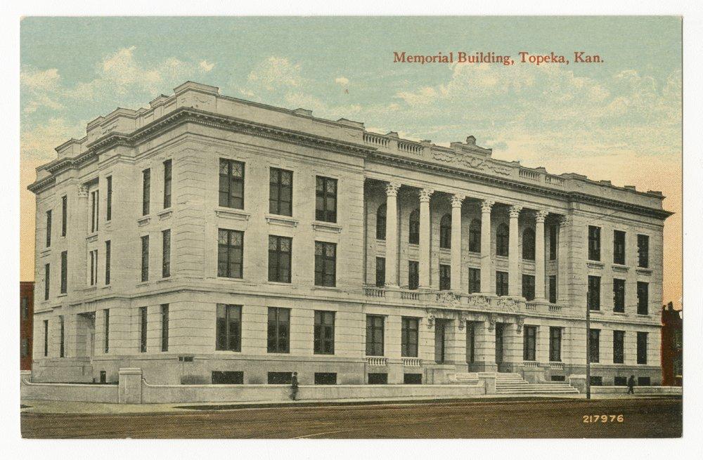 Memorial building in Topeka, Kansas - 1