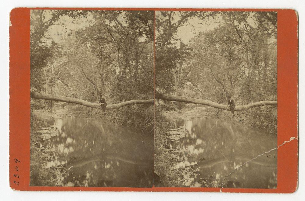 Views of Walnut Creek in Rush County, Kansas - 3