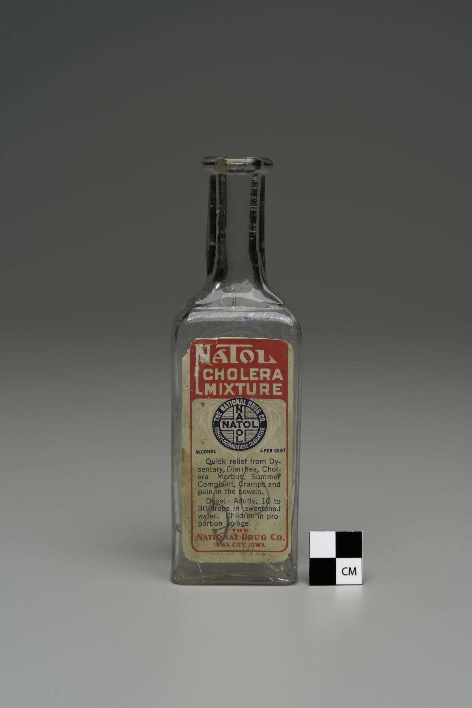 Natol Cholera Mixture Bottle from the Fort Dodge Grocery, 14FD315 - 5