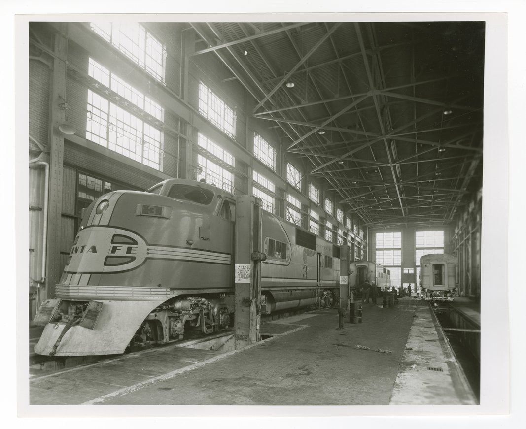 Atchison, Topeka and Santa Fe Railway Company's diesel shop - 1