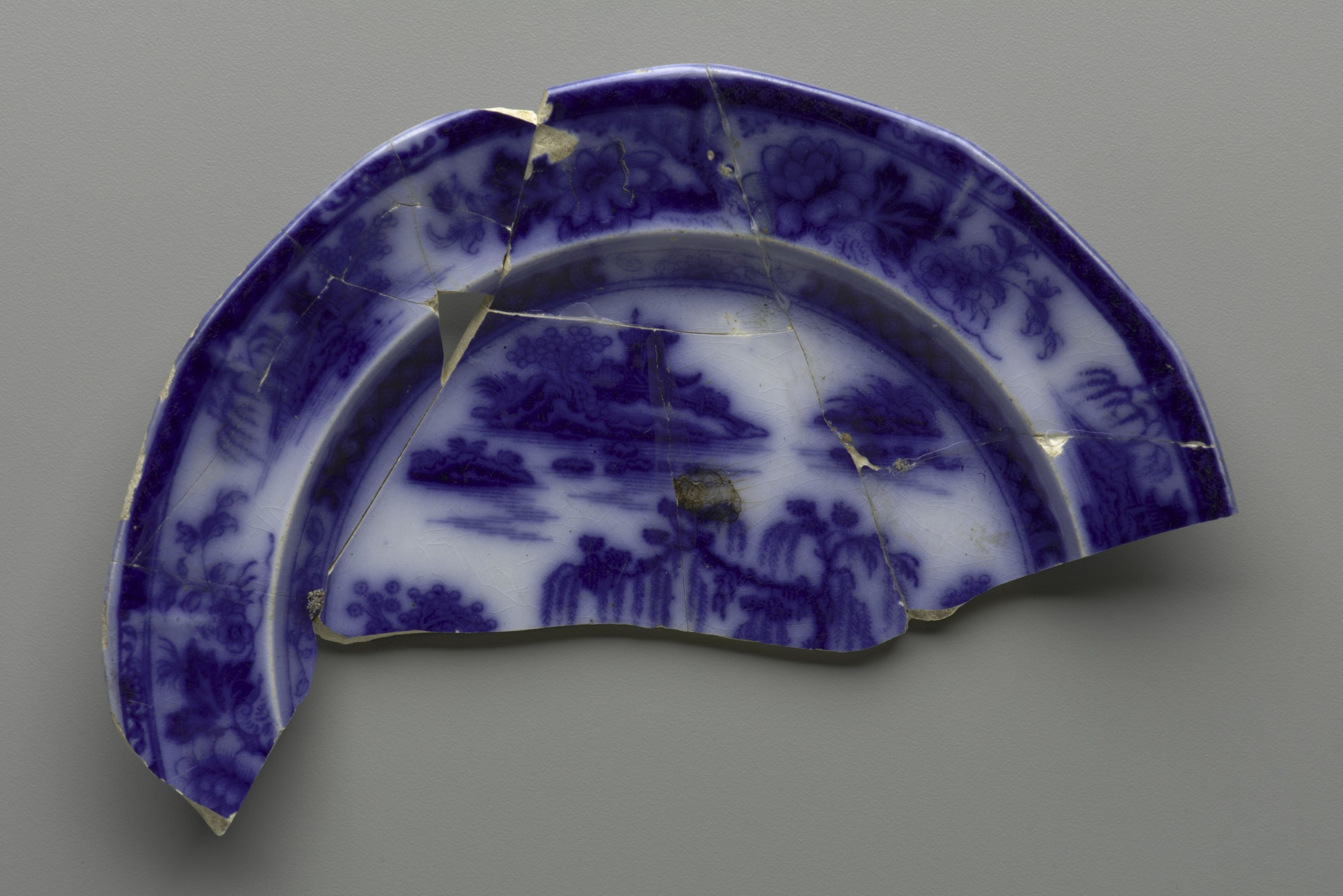 Ironstone Plate from Quindaro, 14WY314 - 1