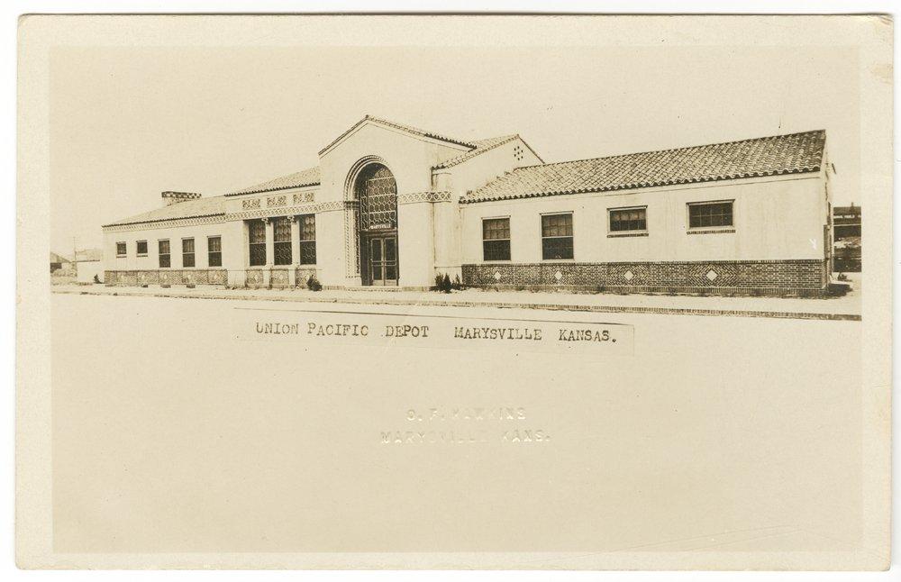 Union Pacific Railroad Company depot, Marysville, Kansas - 3