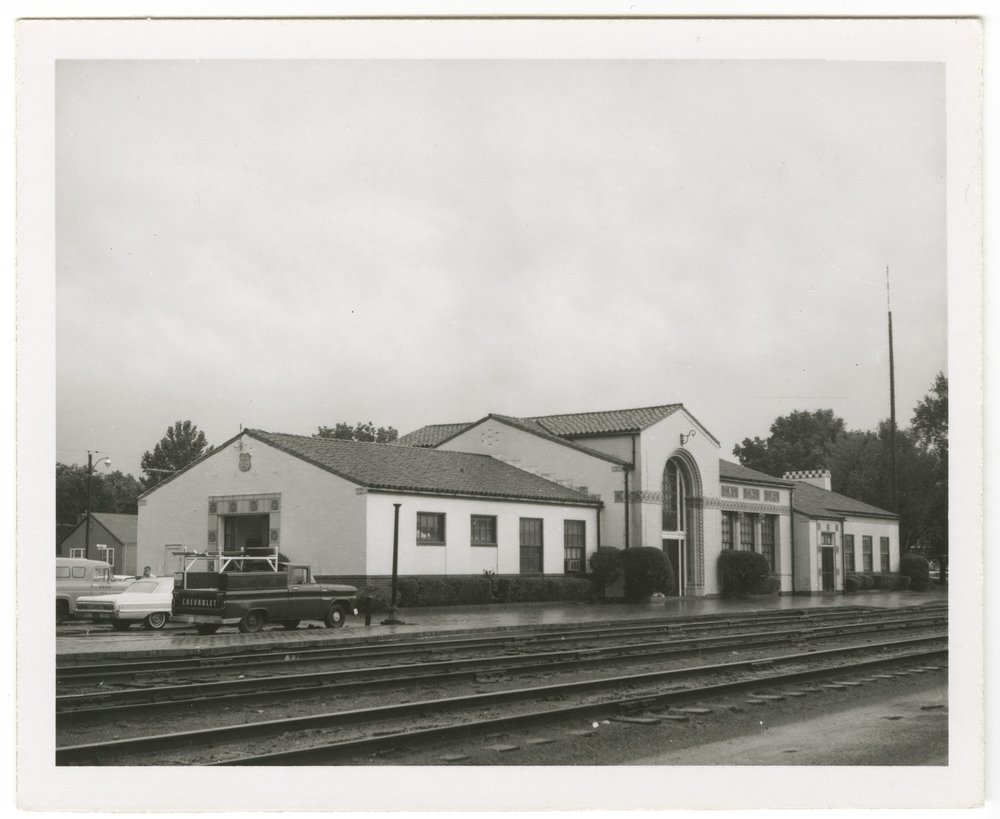 Union Pacific Railroad Company depot, Marysville, Kansas - 7