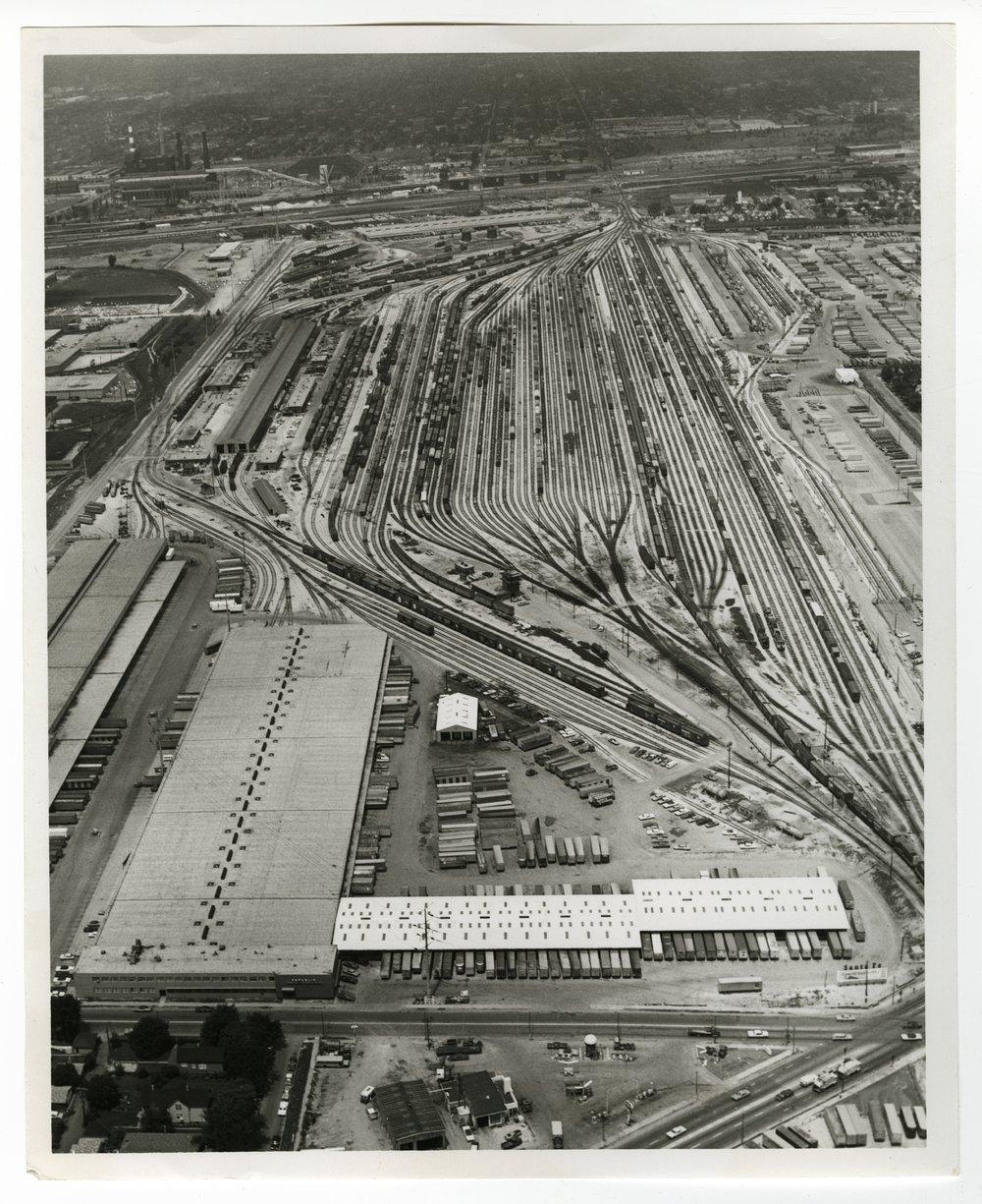 Atchison, Topeka and Santa Fe Railway Company's Corwith Yards, Chicago, Illinois - 1