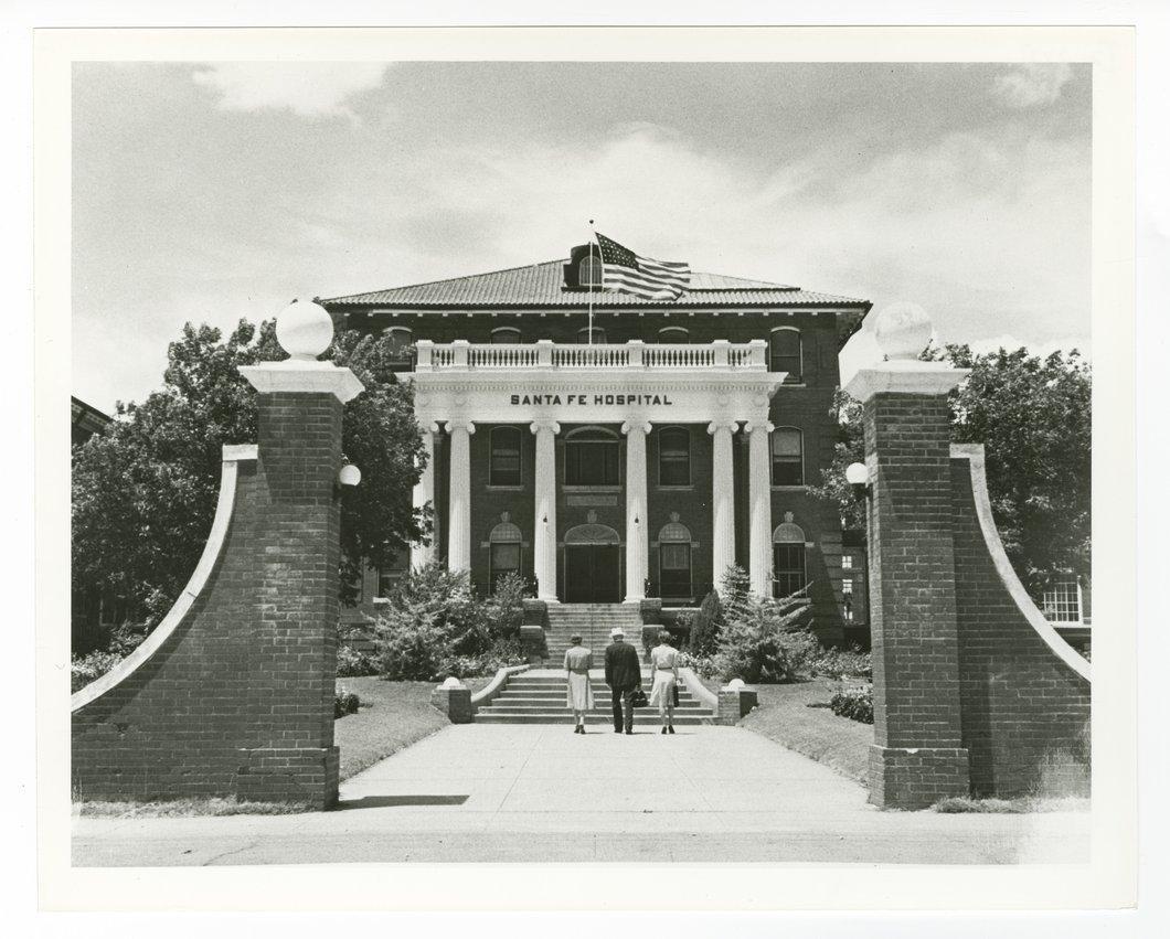 Atchison, Topeka & Santa Fe Railway Company hospital, Temple, Texas - 1